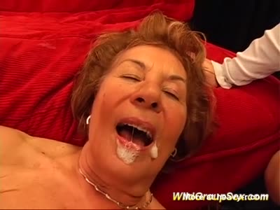 Toothless granny anal