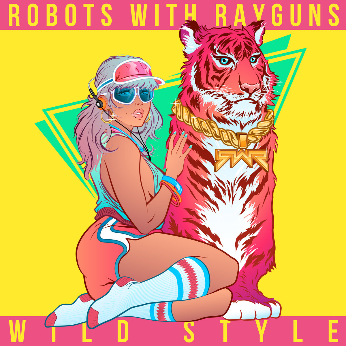 Robots with rayguns