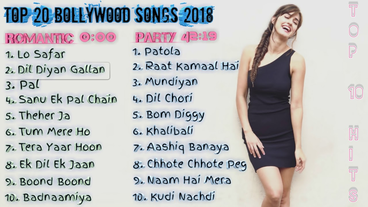 2018 most popular songs bollywood