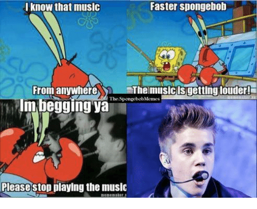 Stop playing the music please