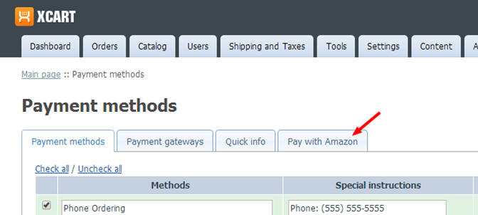 Amazon accepted payment methods