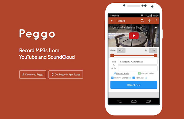 Android download audio from youtube