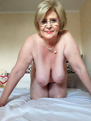 Mature very naked old women