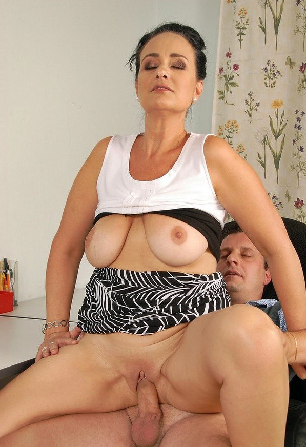 mature party tits