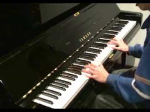 Linkin park new divide piano cover