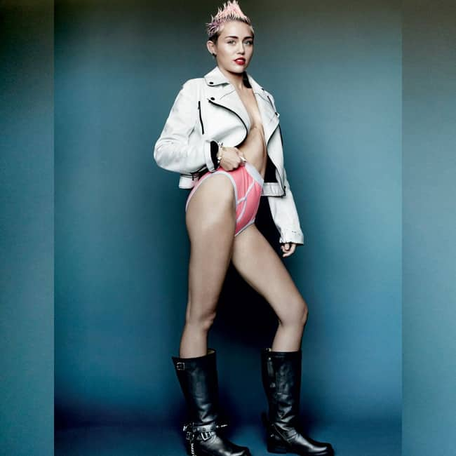 Miley cyrus naked really body