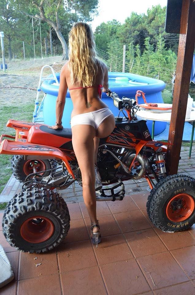 Pictures of hot girls on atvs