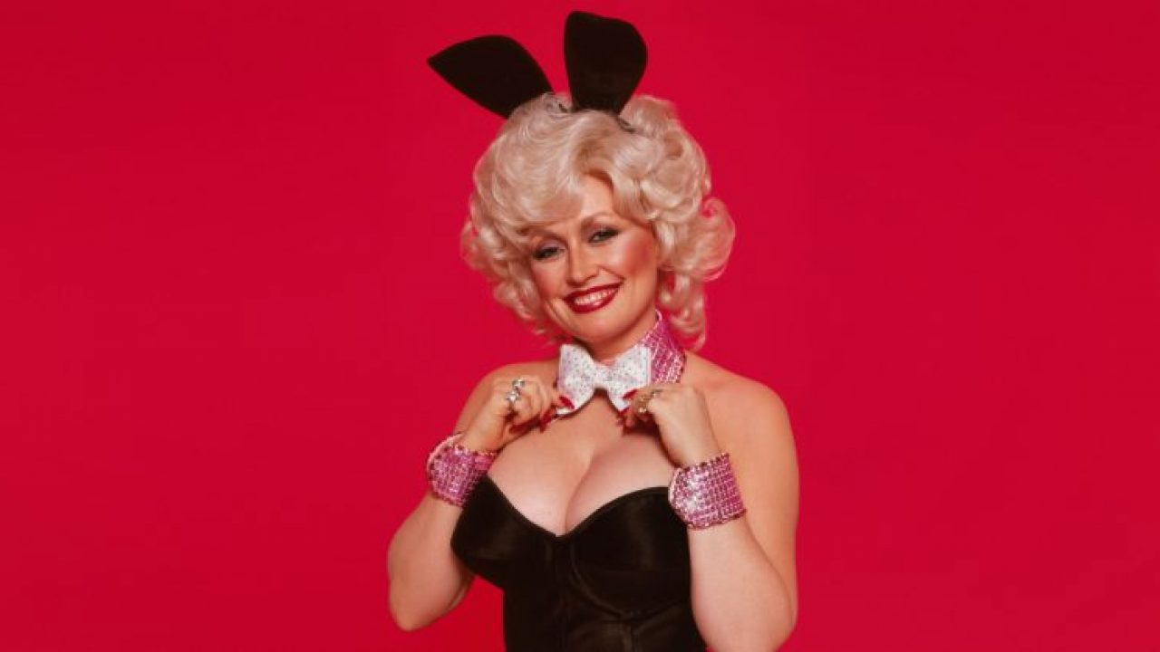 Young dolly parton in playboy